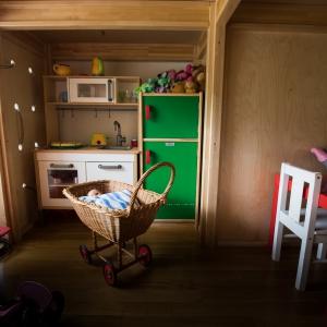 """Im Inneren des """"Haus im Raum"""""""